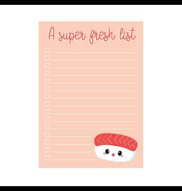 Notablokje sushi A6