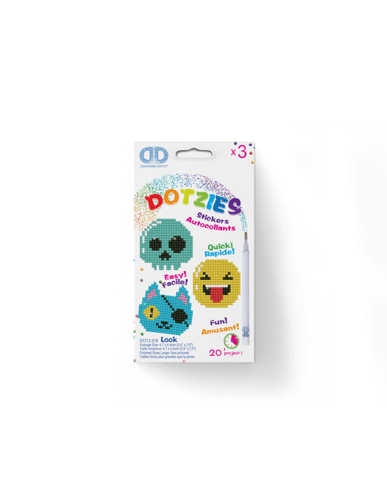 Diamond Dotz stickers LOOK