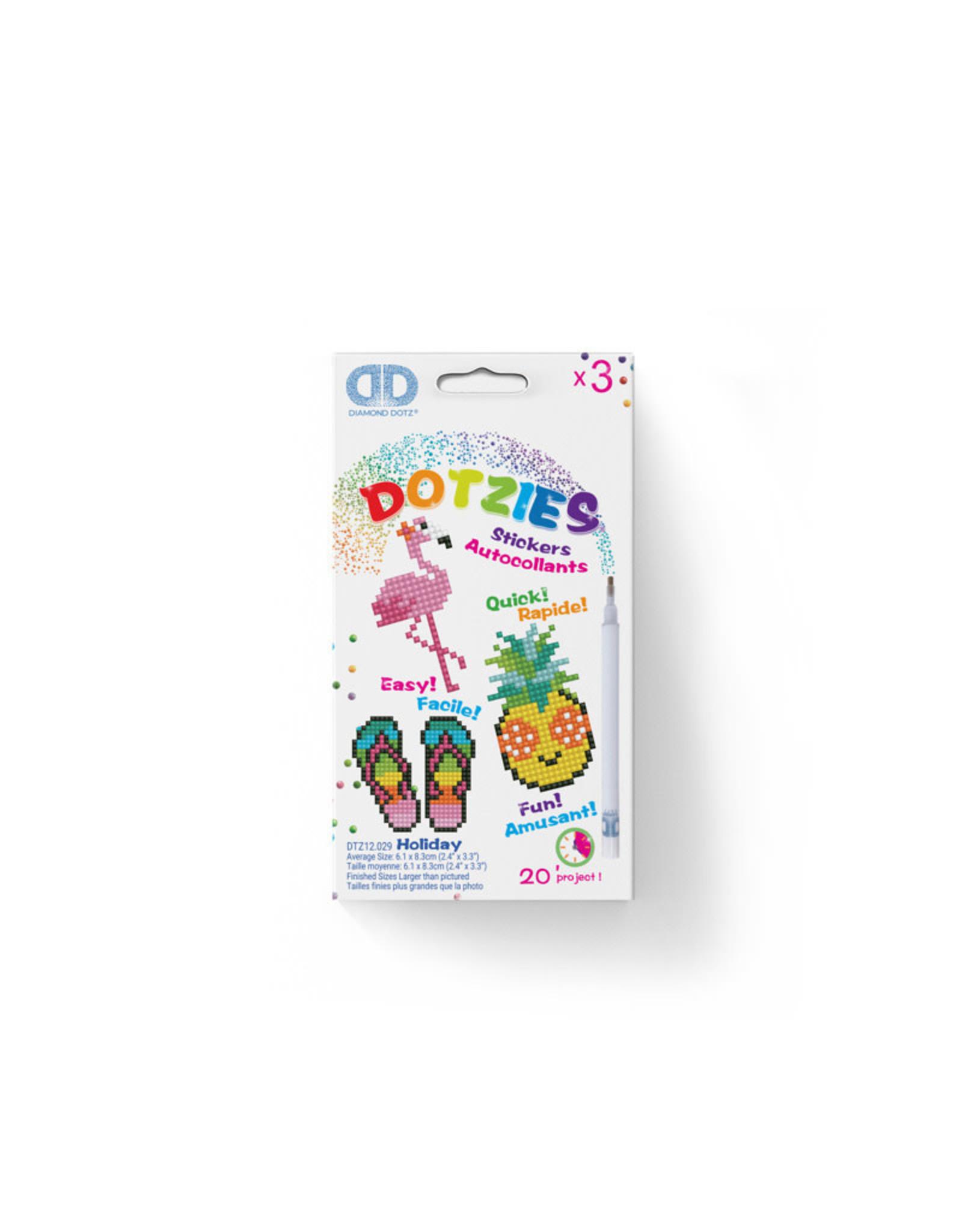 Diamond Dotz stickers HOLIDAY