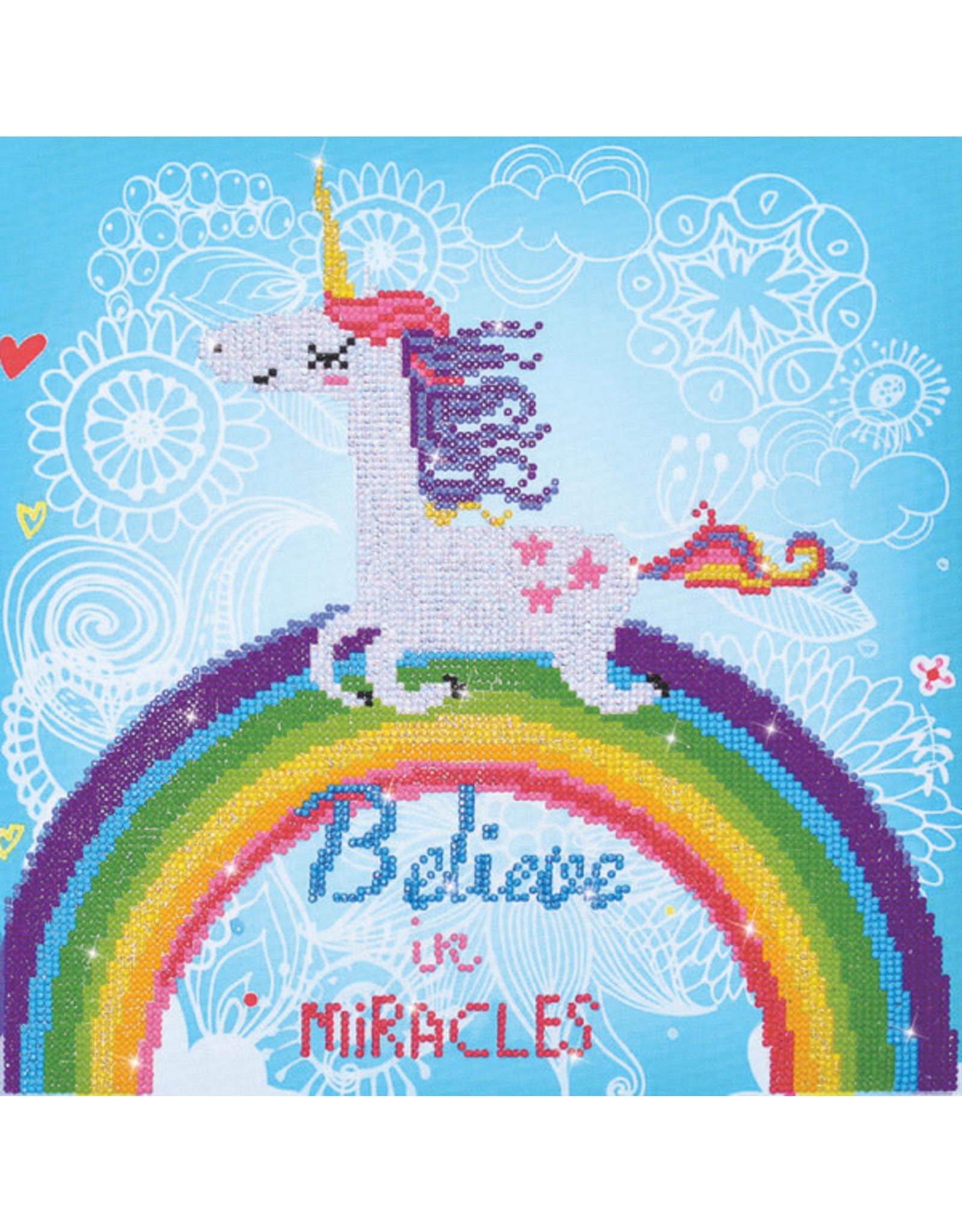 Diamond Dotz Believe in Miracles 35x35cm