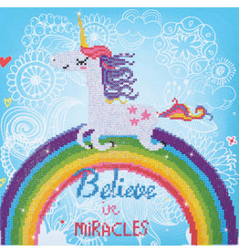 Diamond Dotz Believe in Miracles 35x35cm