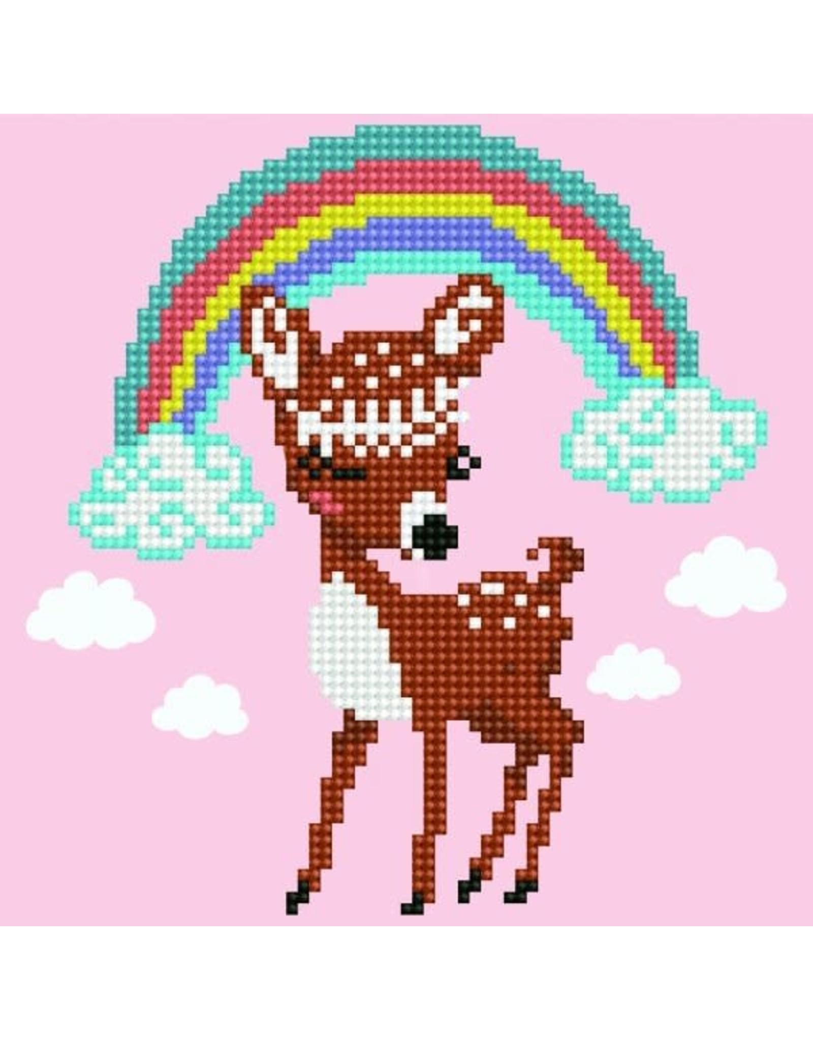 Diamond Dotz Bambi 20x20cm