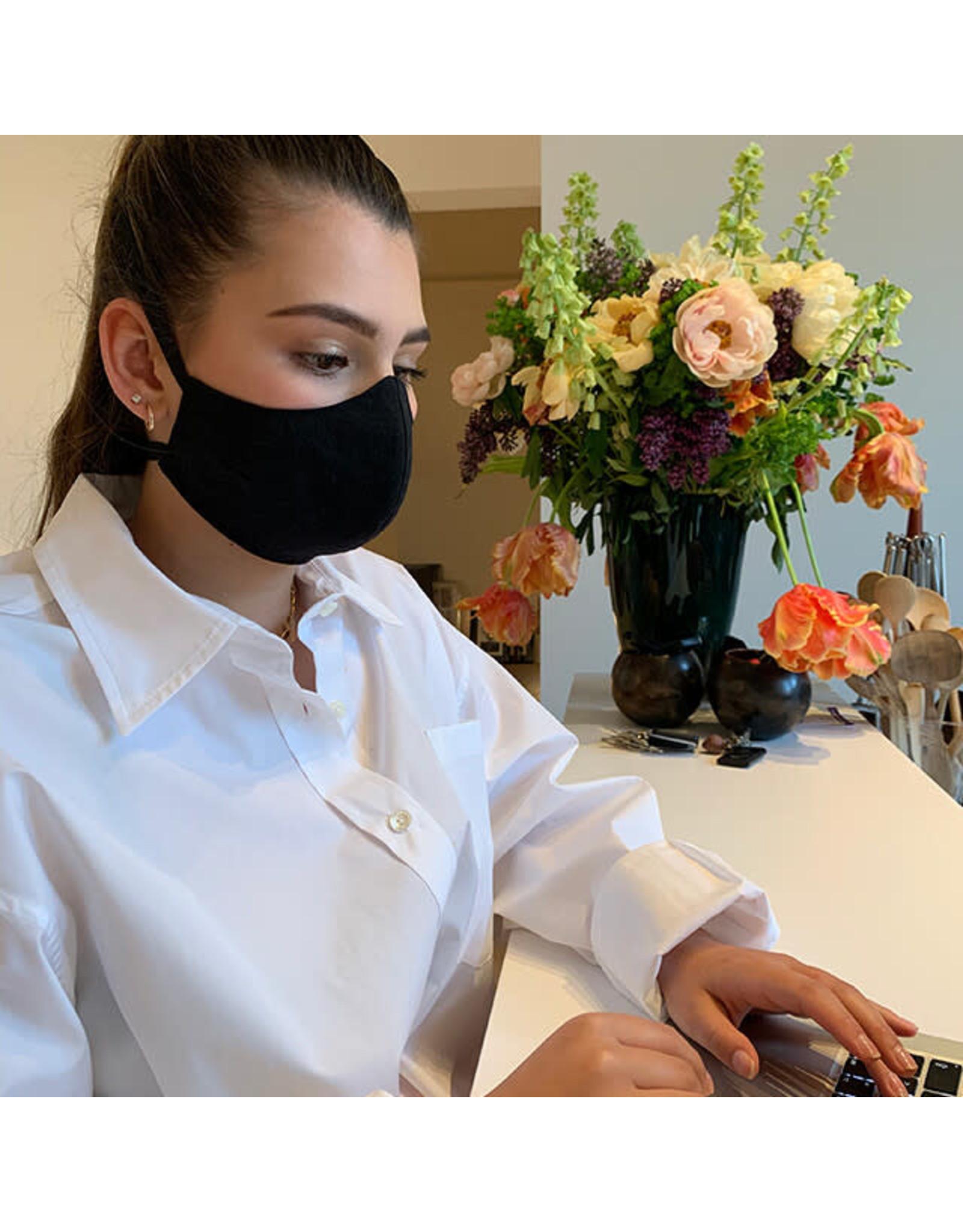 Herbruikbaar mondmasker zalmroze