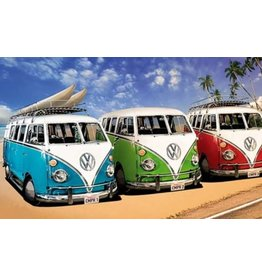 Diamond Painting VW busjes 40x50cm