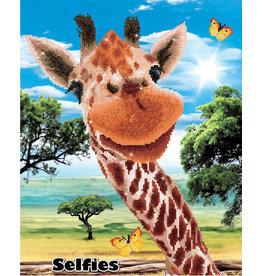 Diamond Dotz giraf 42x52cm