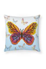 Diamond Dotz kussentje vlinder