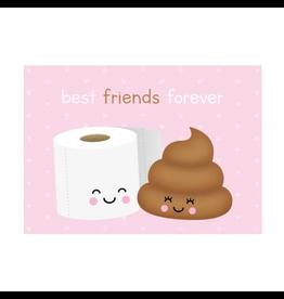 Postkaart Best friends forever