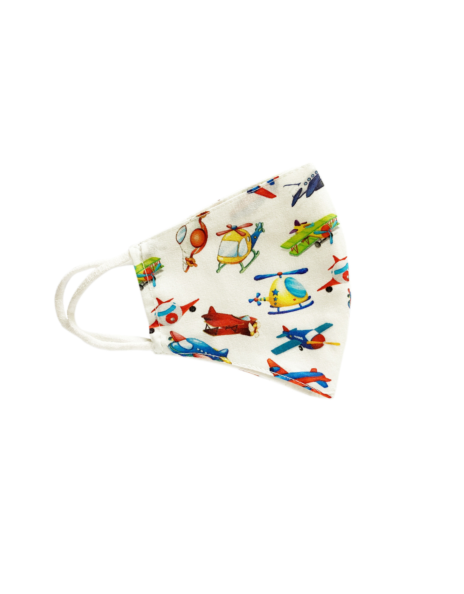 Herbruikbaar mondmasker kind vliegtuig