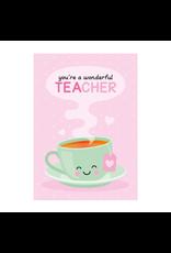Postkaart You're a wonderful TEAcher