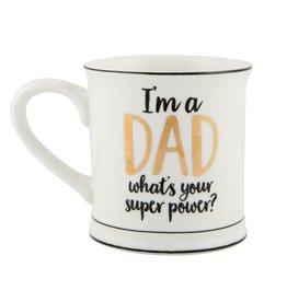 Tas goudfolie DAD superpower
