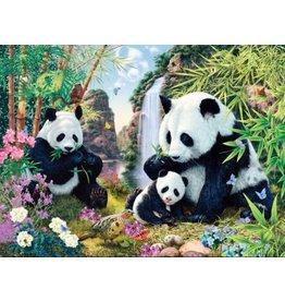 Diamond Painting panda's 40x50cm