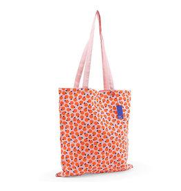 KD: Tote bag oranje/roze sinaasappel