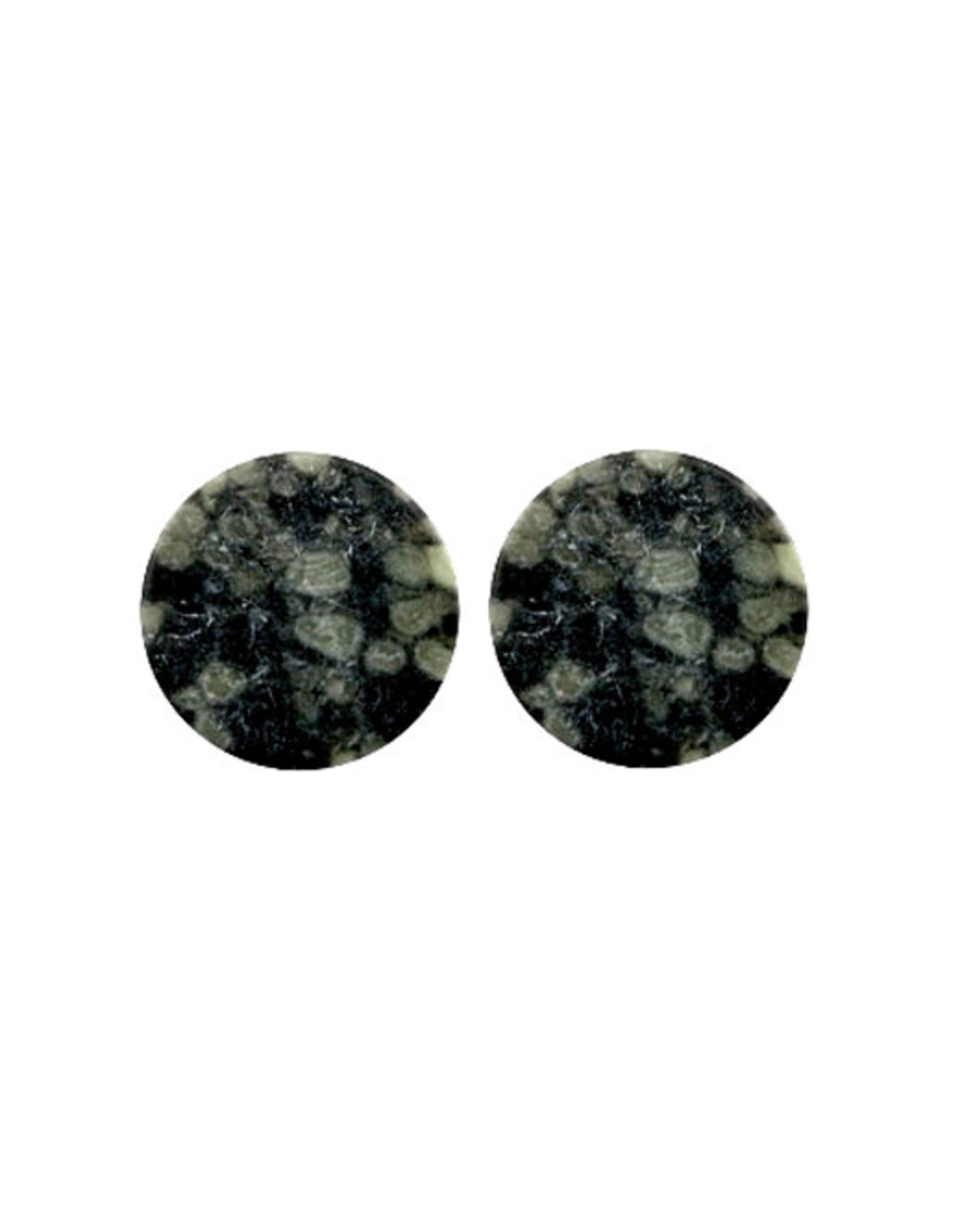 Stekers plat 20mm stone grijsgroen