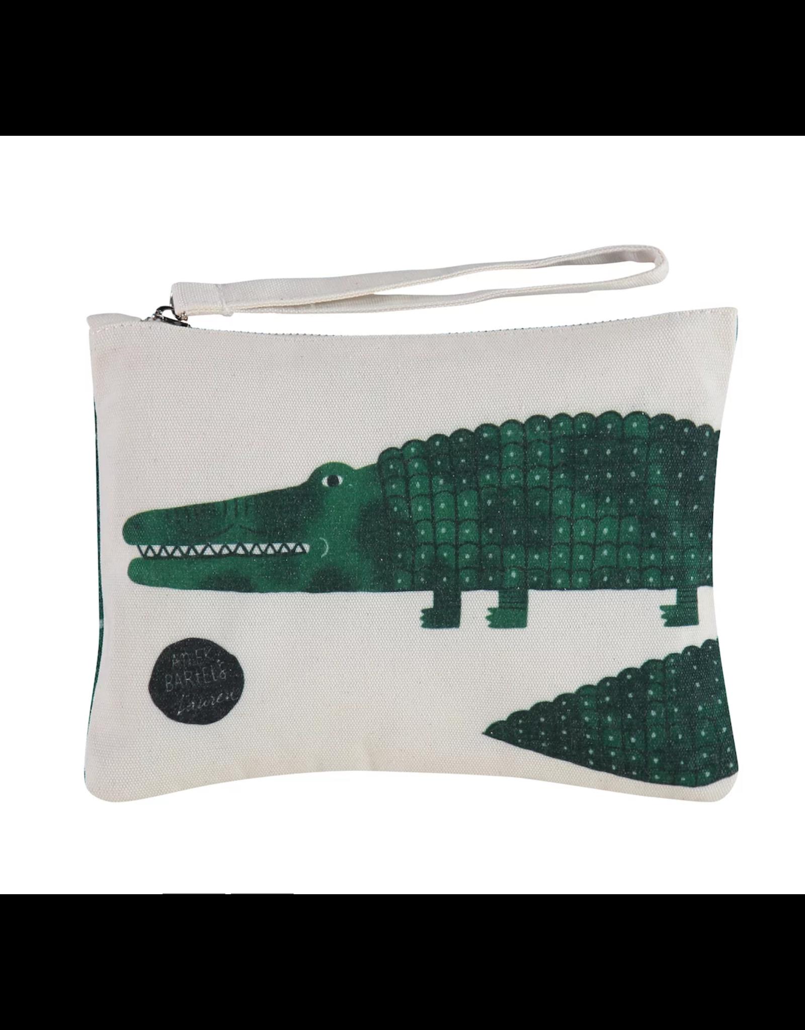 Etui/toiletzak krokodil klein