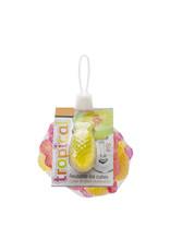 Herbruikbare ijsblokjes ananas/flamingo