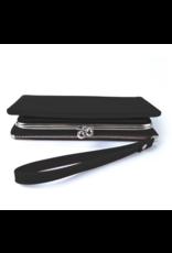 Portemonnee knip zwart