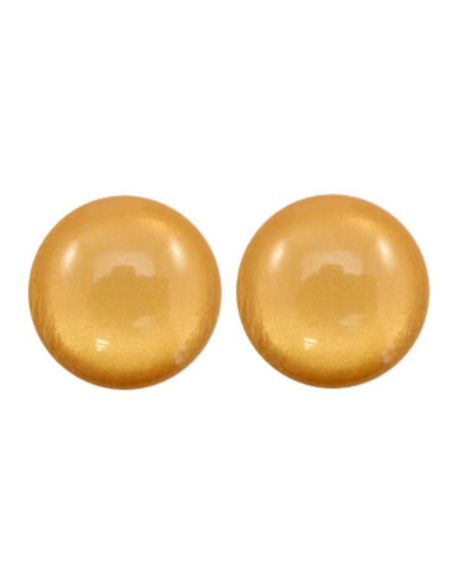Stekers 20mm bol glans beige