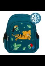Geïsoleerde rugzak tijger