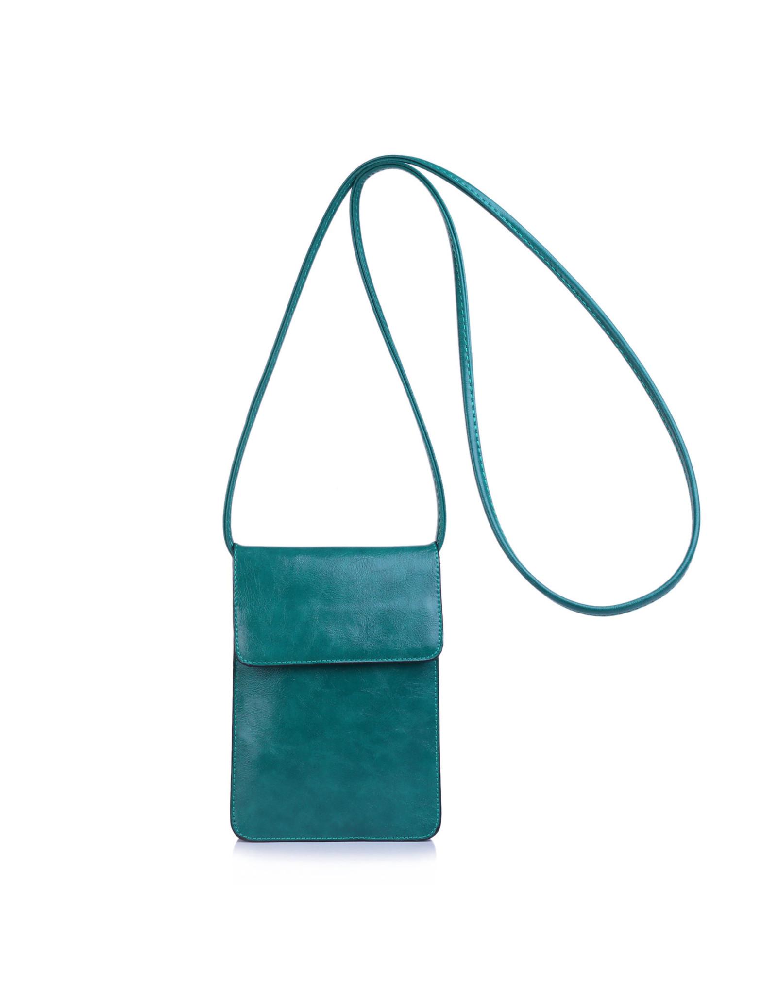 Handtas mini groen