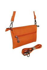Handtasje/clutch oranje