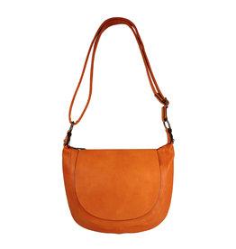 Handtas afgerond klein oranje