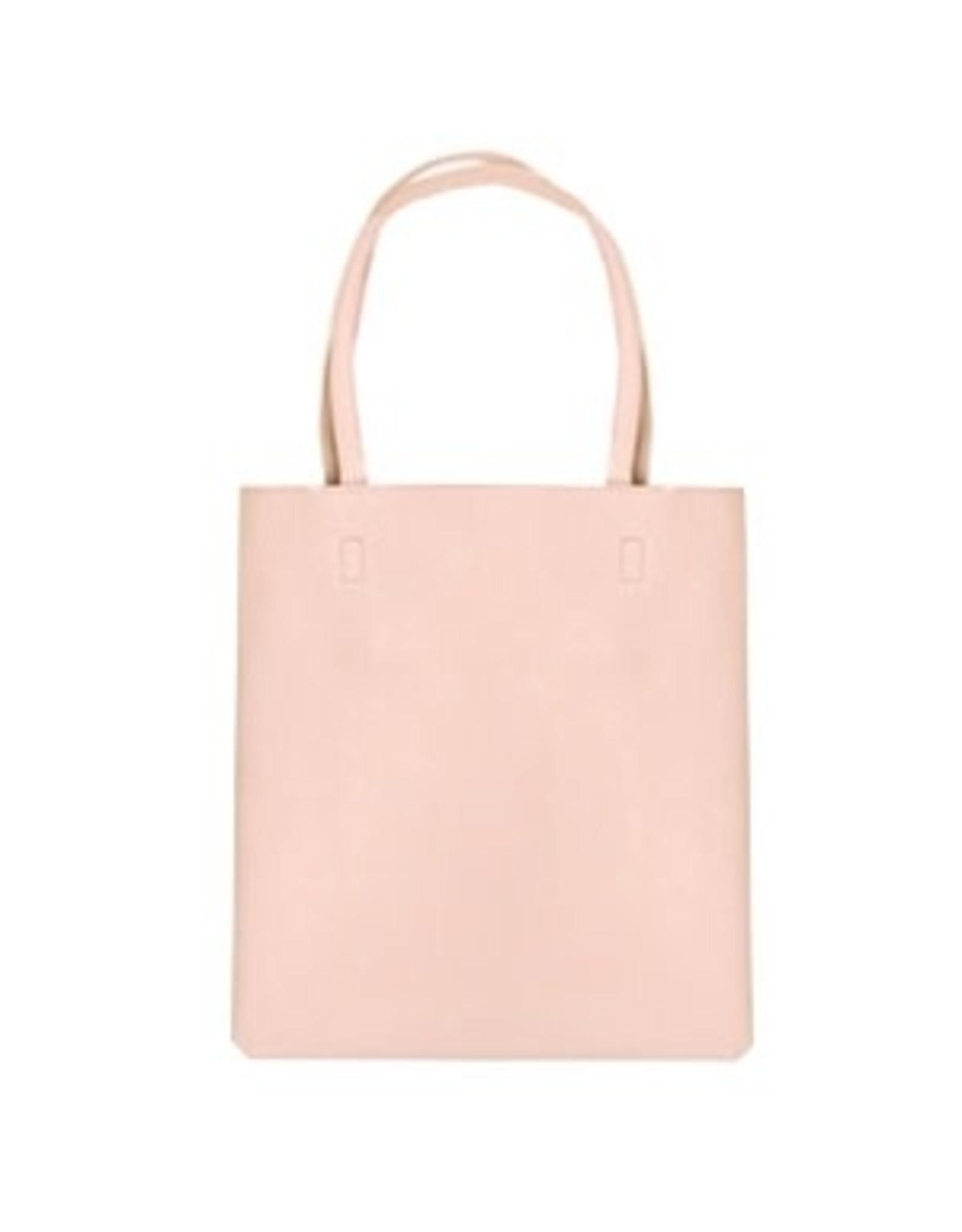 Shopper rits oud roze