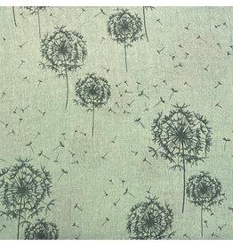 Sjaal katoen blaasbloem turquoise