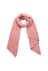 Sjaal schuin roze