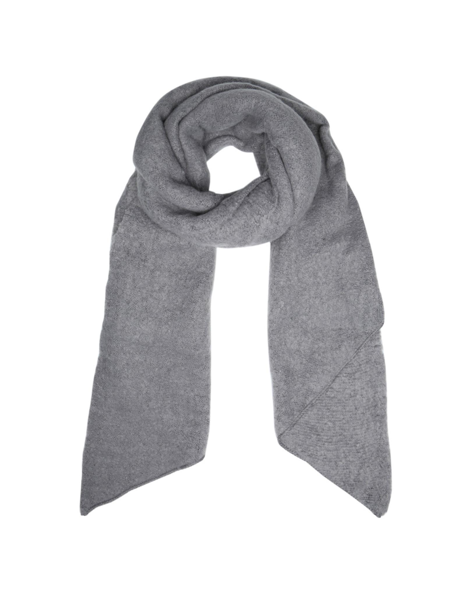 Sjaal schuin grijs