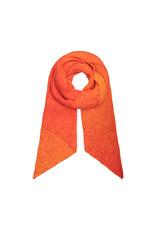 Sjaal schuin oranje dégradé