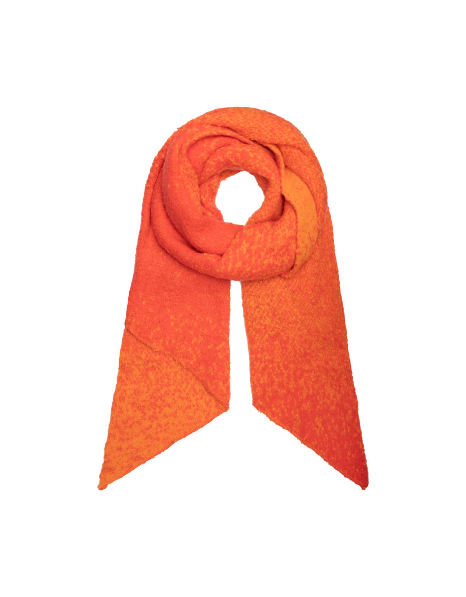Sjaal schuin oranje