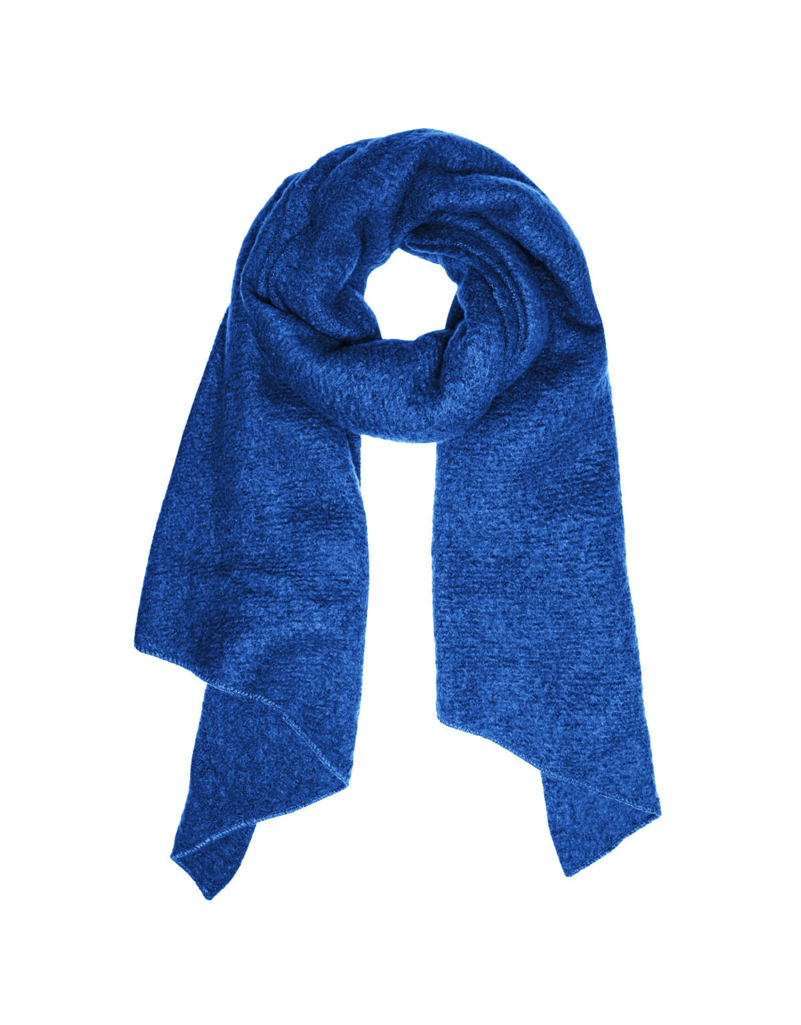 Sjaal schuin blauw