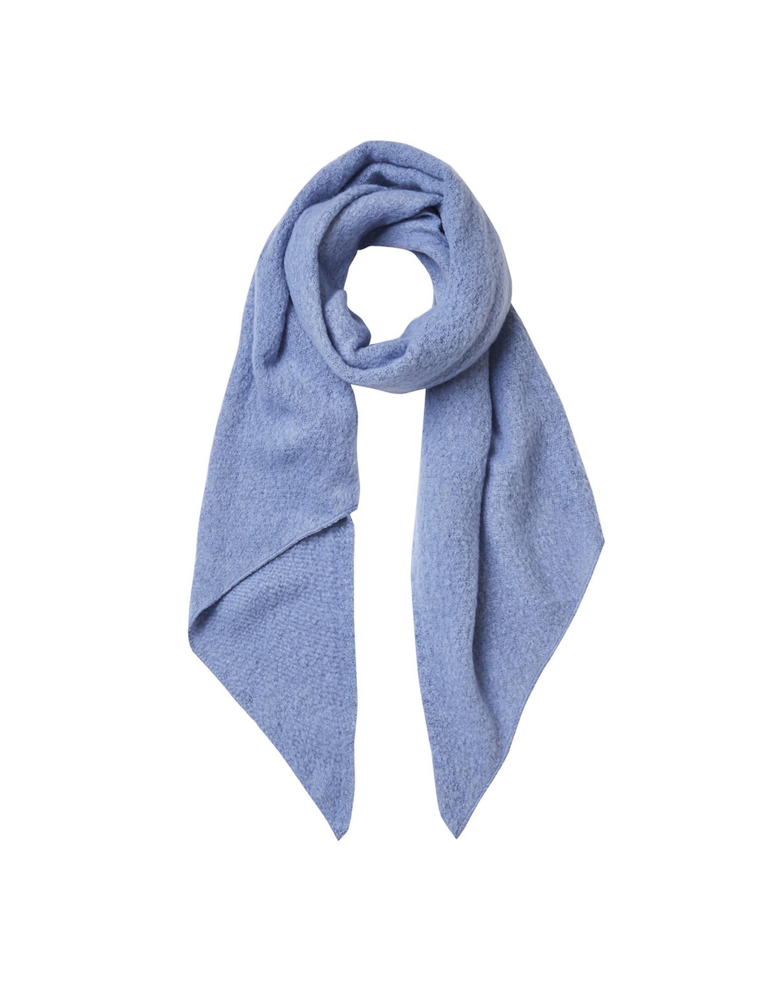 Sjaal schuin babyblauw