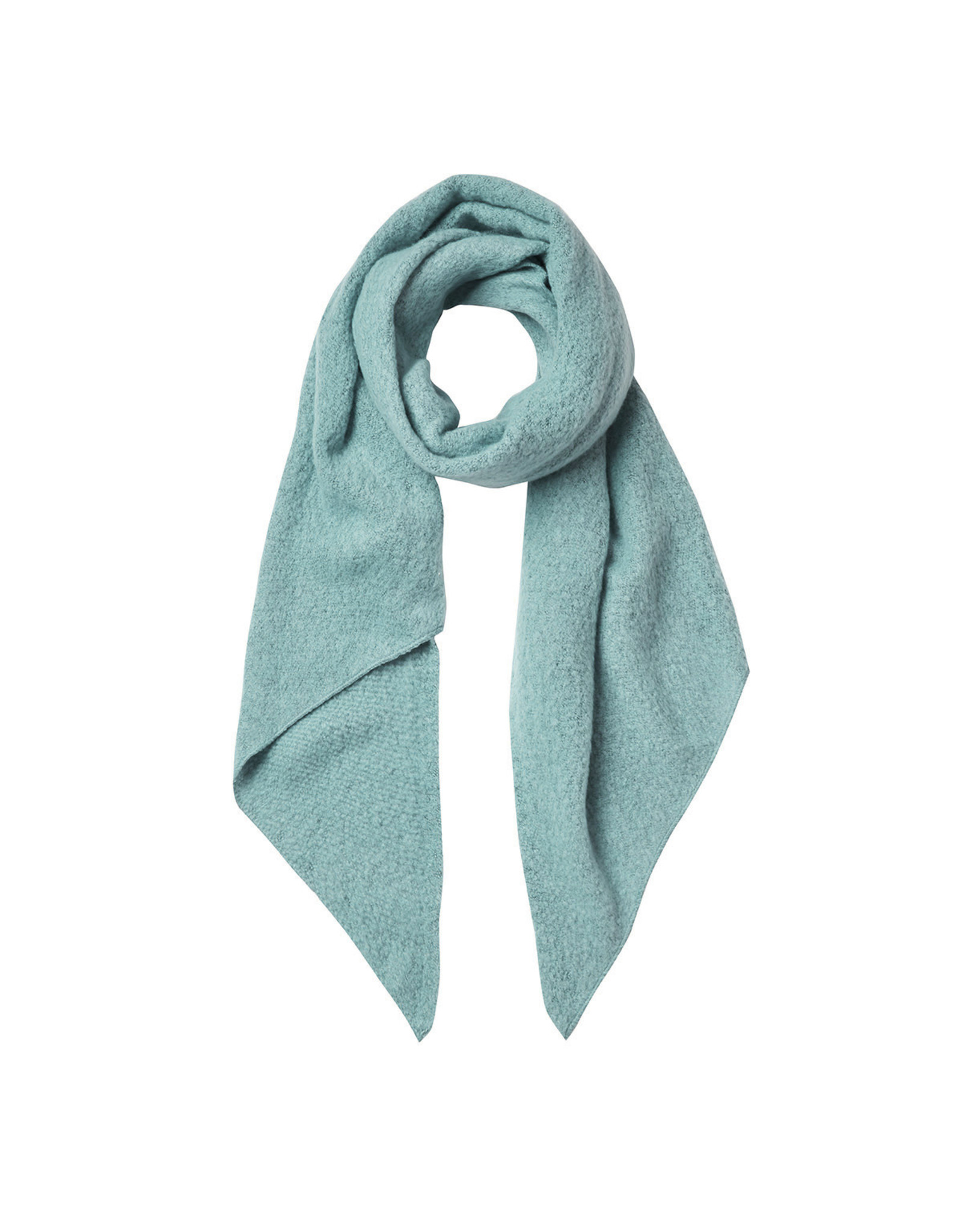 Sjaal schuin turquoise