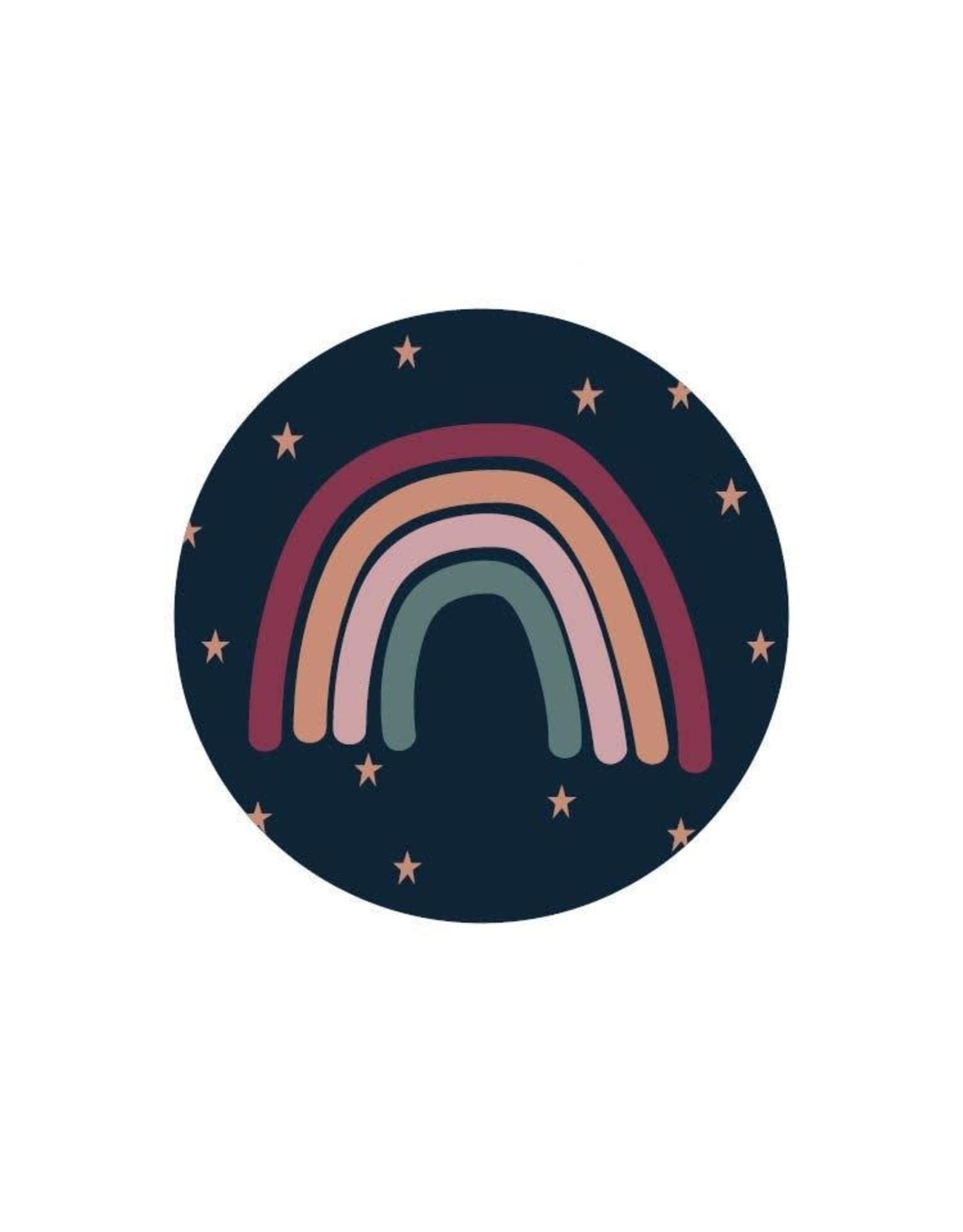 Stickers 5st. Regenboog