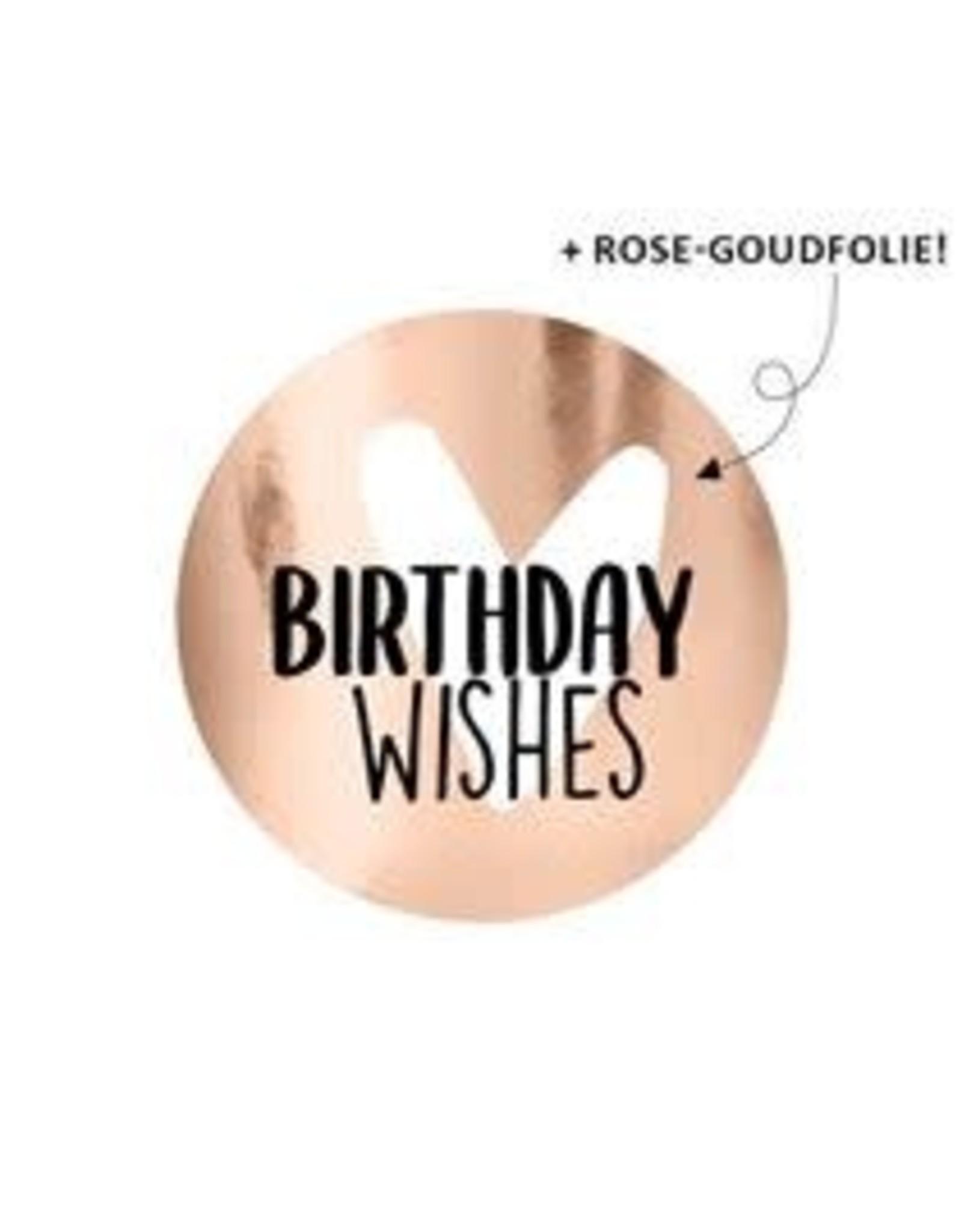 Stickers 5st. Birthday wishes