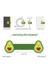 Magnetische clip avocado