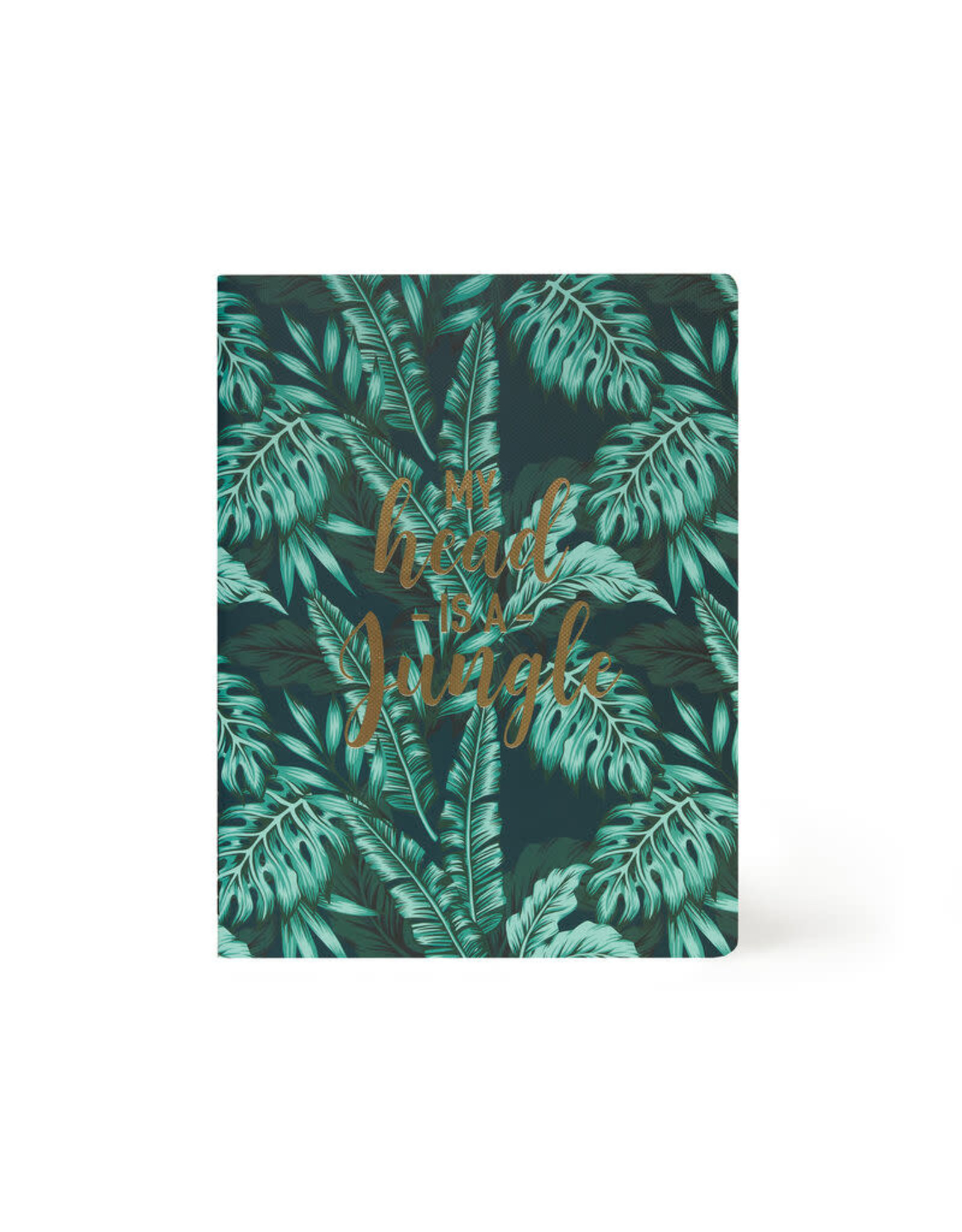 Notaboek gelijnd groot tropical leafs