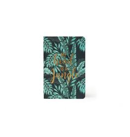 Schrift A5 gelijnd tropical leafs