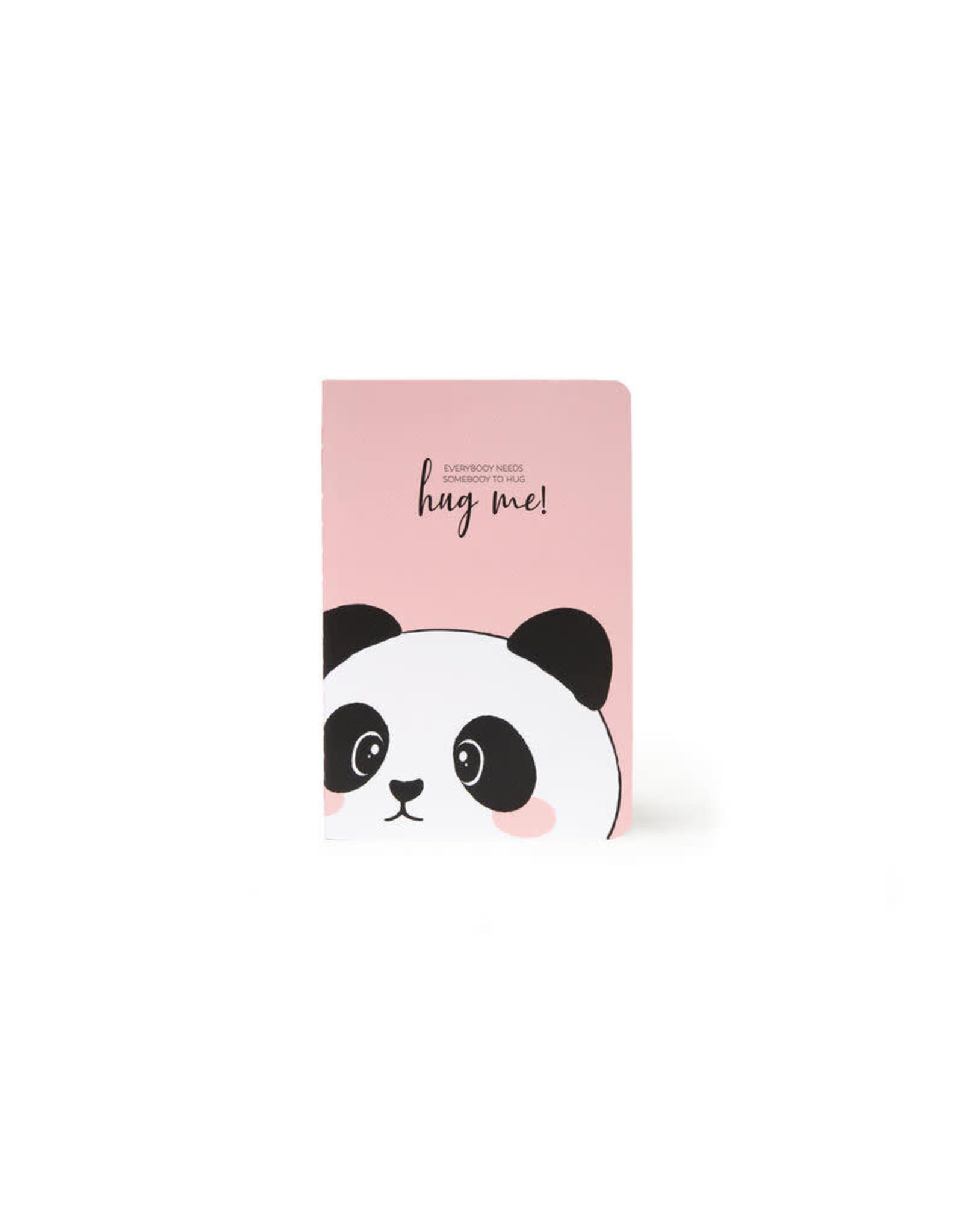 Schriftje A6 gelijnd panda