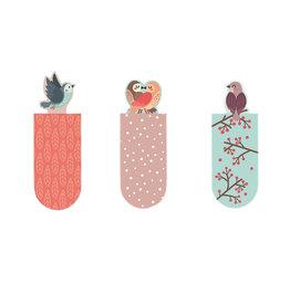 Magnetische bladwijzers vogel