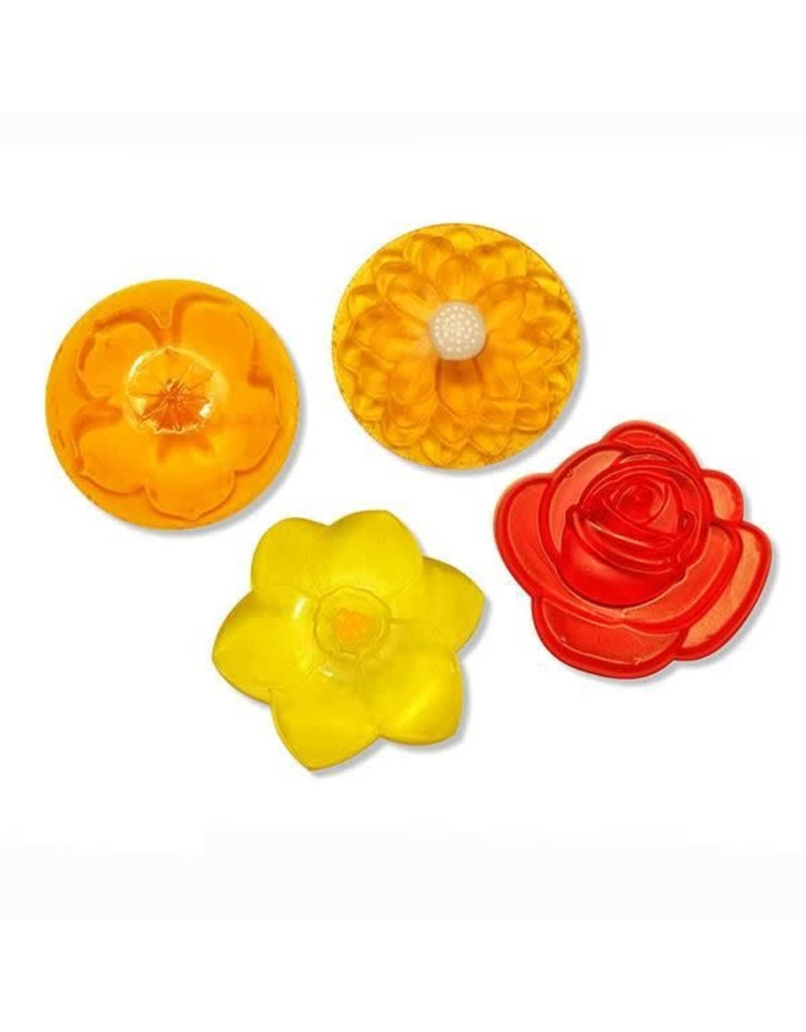 DIY zeep maken bloemen