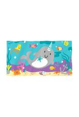Magische handdoek narwal