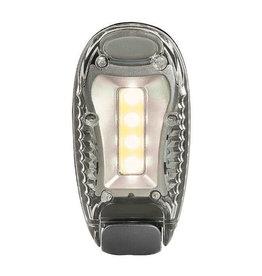 LED clip zilver