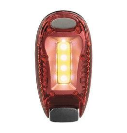 LED clip rood