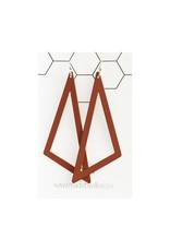 oorbEllen driehoek XL roest