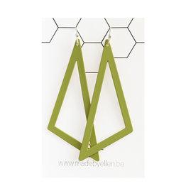 oorbEllen driehoek XL kaki