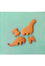 Koekjesvorm brachiosaurus