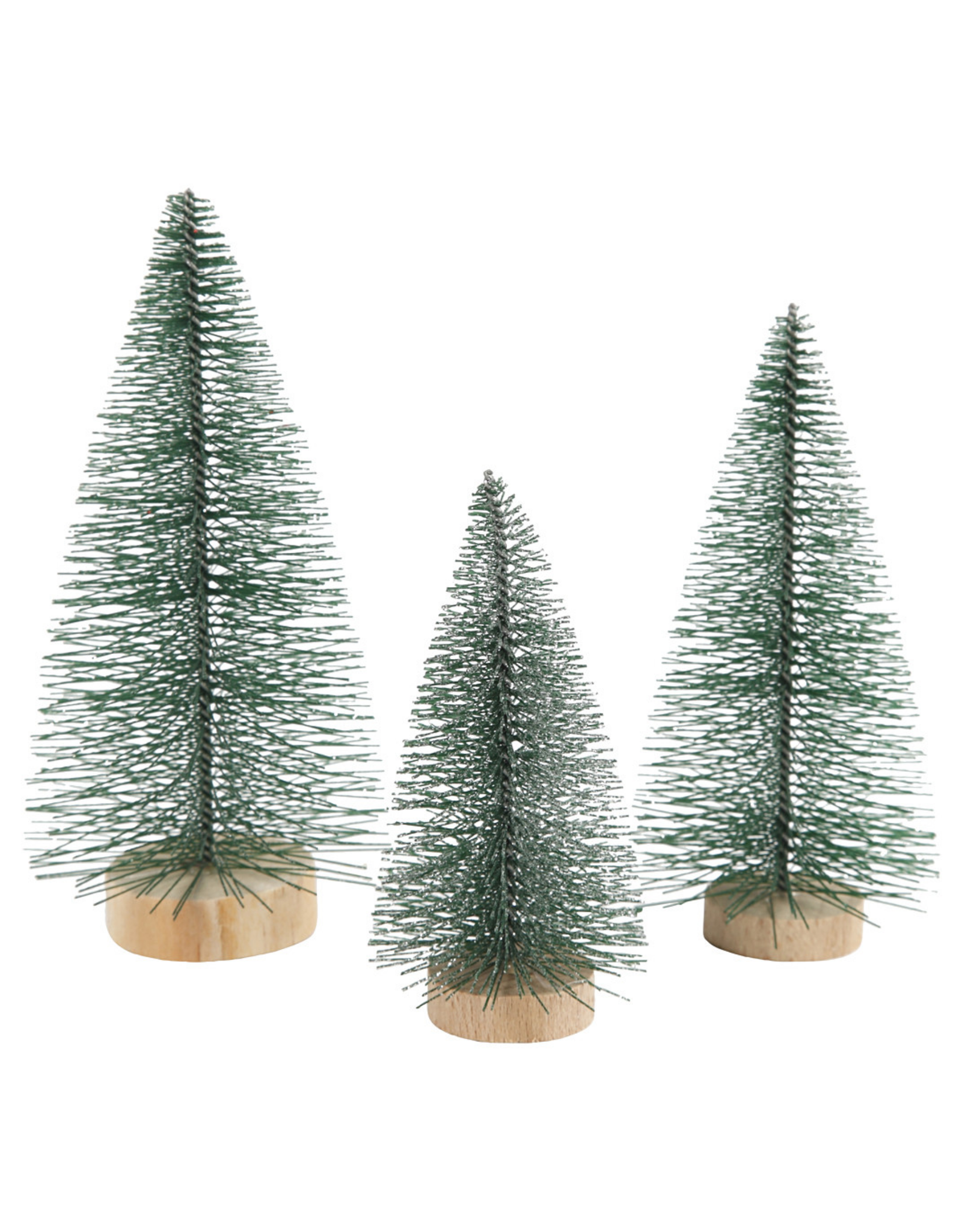 Decoratie kerstbomen 3st.