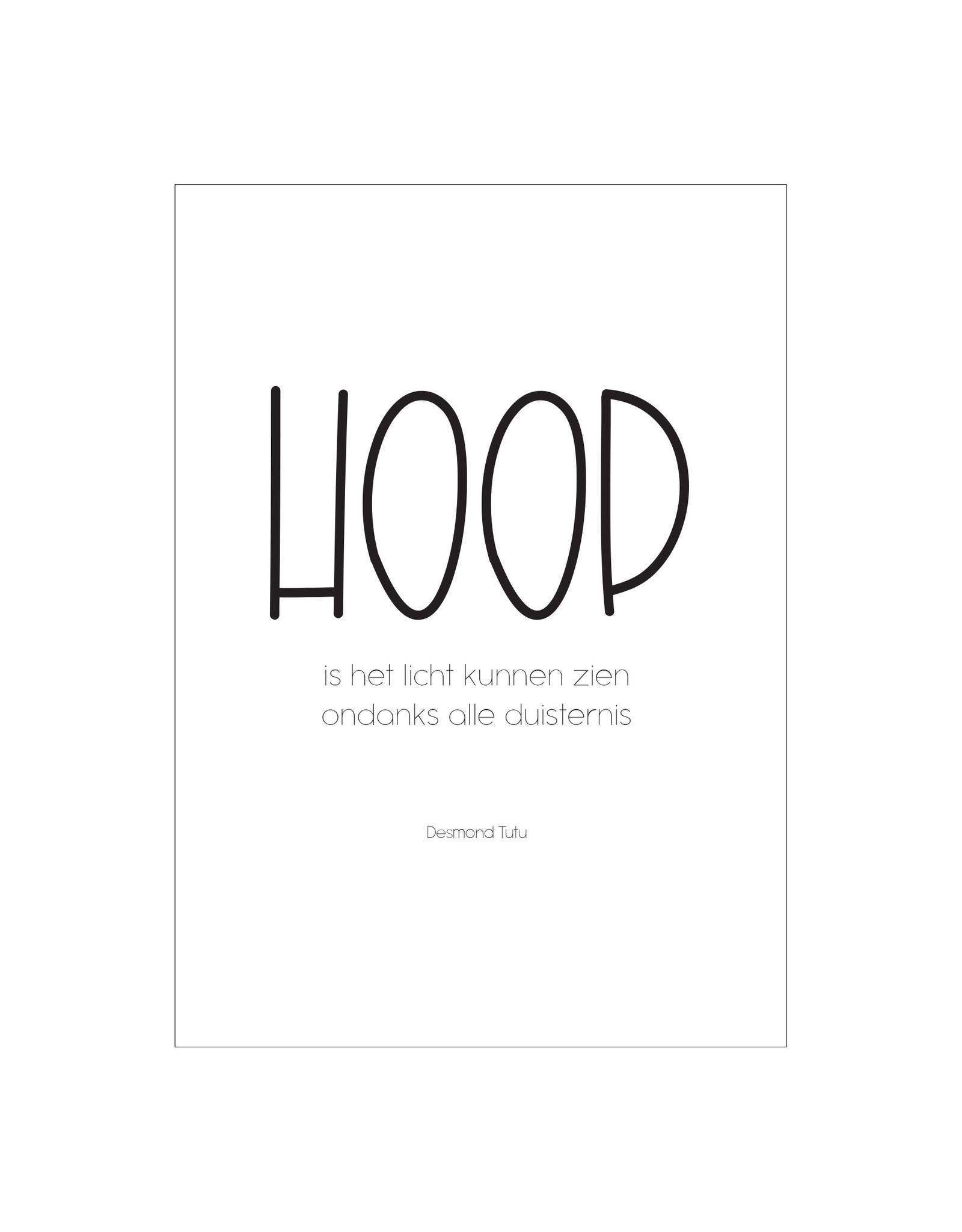 Postkaart HOOP